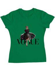 Tricou ADLER dama Little black tutu Verde mediu