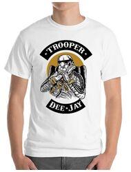 Tricou ADLER barbat Trooper Dee Jay Alb