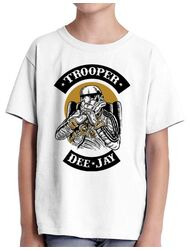Tricou ADLER copil Trooper Dee Jay Alb