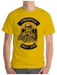 Tricou ADLER barbat Trooper Dee Jay Galben