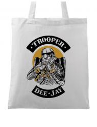 Sacosa din panza Trooper Dee Jay Alb
