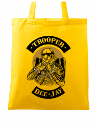 Sacosa din panza Trooper Dee Jay Galben