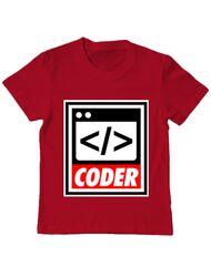 Tricou ADLER copil Coder Rosu