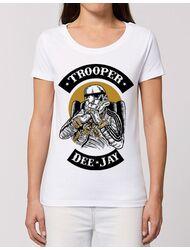 Tricou STANLEY STELLA dama Trooper Dee Jay Alb