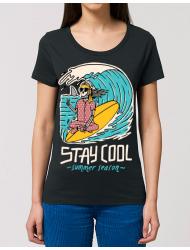 Tricou STANLEY STELLA dama stay cool Negru