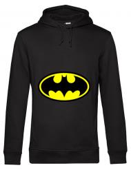 Hoodie barbat cu gluga Batman Negru