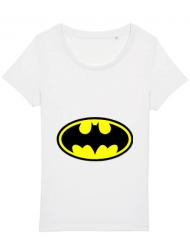 Tricou STANLEY STELLA dama Batman Alb