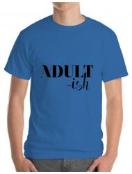 Tricou ADLER barbat Adultish Albastru azuriu