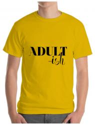 Tricou ADLER barbat Adultish Galben