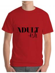 Tricou ADLER barbat Adultish Rosu