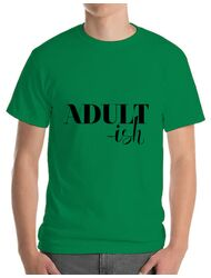 Tricou ADLER barbat Adultish Verde mediu
