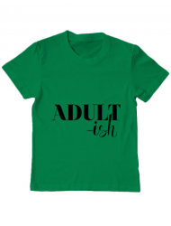 Tricou ADLER copil Adultish Verde mediu