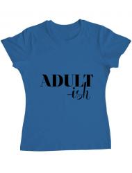 Tricou ADLER dama Adultish Albastru azuriu
