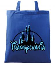 Sacosa din panza Transylvania Albastru regal