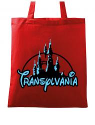 Sacosa din panza Transylvania Rosu