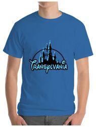 Tricou ADLER barbat Transylvania Albastru azuriu