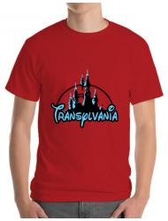 Tricou ADLER barbat Transylvania Rosu