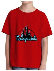 Tricou ADLER copil Transylvania Rosu