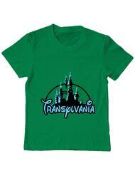 Tricou ADLER copil Transylvania Verde mediu