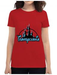Tricou ADLER dama Transylvania Rosu