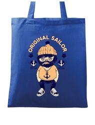 Sacosa din panza Original sailor Albastru regal