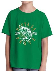 Tricou ADLER copil Bafta la peste Verde mediu