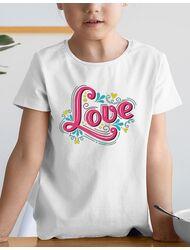 Tricou de colorat Love