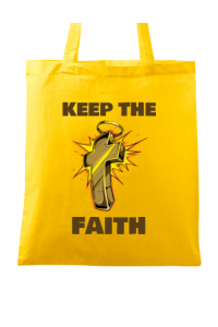 Tricou ADLER barbat Keep the Faith Galben