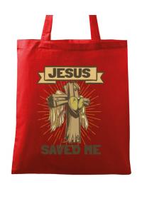 Tricou ADLER copil Jesus Saved Me Rosu