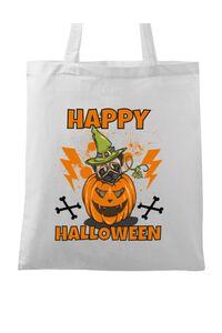 Tricou ADLER barbat Halloween Pug Alb