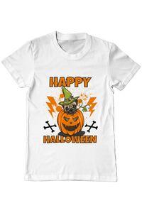 Tricou STANLEY STELLA dama Halloween Pug Alb