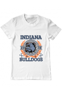 Sapca personalizata Indiana Bulldogs Alb
