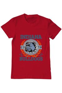 Tricou ADLER copil Indiana Bulldogs Rosu