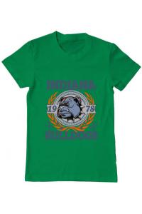 Tricou ADLER copil Indiana Bulldogs Verde mediu