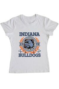 Tricou STANLEY STELLA barbat Indiana Bulldogs Alb
