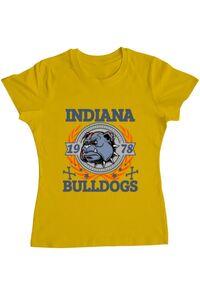 Tricou ADLER barbat Indiana Bulldogs Galben