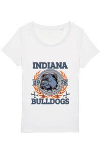Tricou ADLER dama Indiana Bulldogs Alb