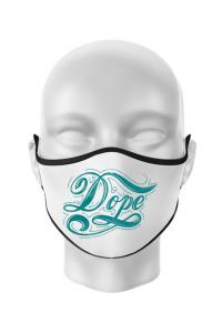 Perna personalizata Dope Alb