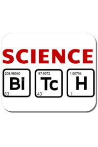 Tricou ADLER barbat Science Bitch Alb