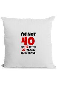 Sapca personalizata 40 ani Birthday Alb