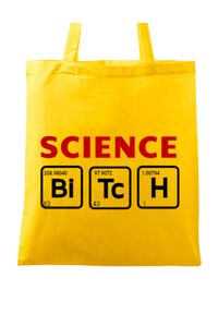Tricou ADLER barbat Science Bitch Galben