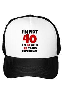 Tricou STANLEY STELLA barbat 40 Birthday Alb