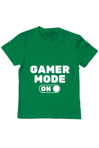 Tricou ADLER dama Gamer mode on Verde mediu
