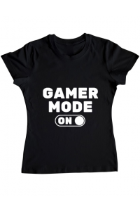 Tricou STANLEY STELLA barbat Gamer mode on Negru