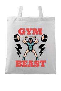 Tricou ADLER copil Gym Beast Alb