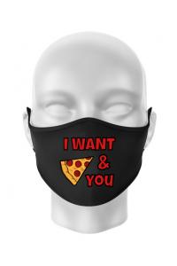 Tricou ADLER barbat I want you Negru