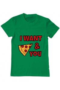 Tricou ADLER copil I want you Verde mediu
