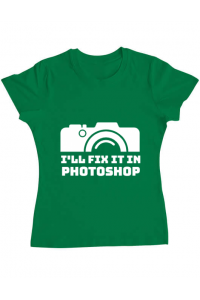 Tricou ADLER copil I'll fix it Verde mediu