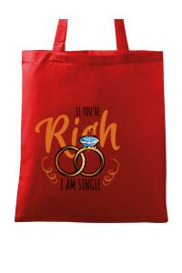 Tricou ADLER copil If you are rich Rosu