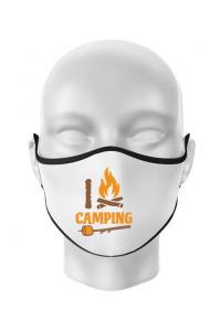 Tricou STANLEY STELLA barbat I love Camping Alb